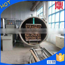 High frequency rotary kiln dryer for wood/pallet/veneer