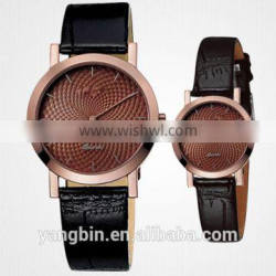 Current Best couple watch Stainless steel japan Quartz movt factory watch
