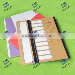 Colored Slide Mailer made from high quality cardboard material