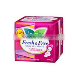 Sanitary Napkin - Fresh & Free Day Super Protection Wings 8M
