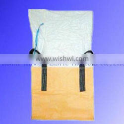 low price bulk container bag/flexible container bag