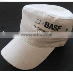 2014 men's military hats with embroidery logo