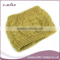 Wholesale New Style winter handmade knitted cap/caps and hats/design wool caps