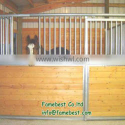 3.6x2.2m Galvanized Horse Stable with 20/25/32mm bamboo wood