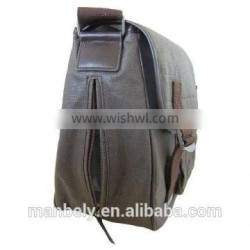 excellent men's canvas messenger bag with high capacity