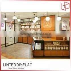 Customized bakery equipment toughened glass pastry cake bread fan cooling display showcase cabinet for store retail