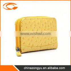 Newest sale good quality women soft leather wallet