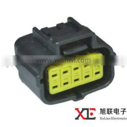 10 pin female male Auto Electrical Connectors with terminals and seals 174657-2 174655-2
