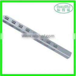 Metal storage upright display slotted channel Quality Choice