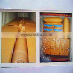 Useful newest white recycled pp dunnage bag
