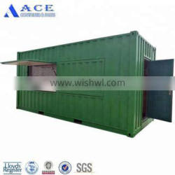 Free Design Mobile Coffee Bar Pop Up Shipping Container Shop