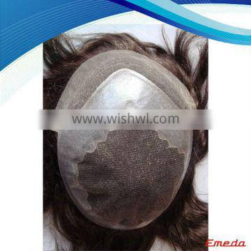 Wholesale 2014 new products french lace men toupee