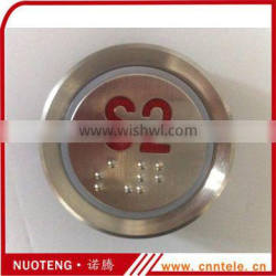 AK-22B S1 S2 S3 Sign red 24V elevator braille button