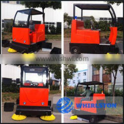 whirlston hot sale electric road sweeper car