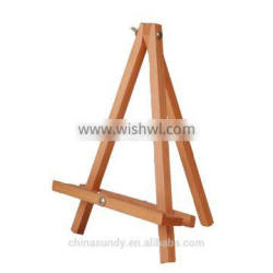 table wooden easel