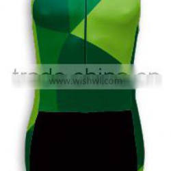 Custom triathlon suit and cycling jersey