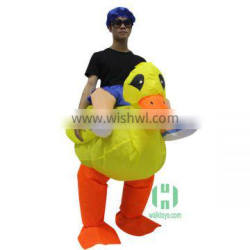 halloween duck inflatable inflatable costume lyjenny for sale inflatable ride on costume mascot walking riding animal pvc suit