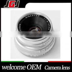 Silver Camera 25mm F1.8 Focus Lens For Olympus M4/3 For Sony For NEX For Fuji