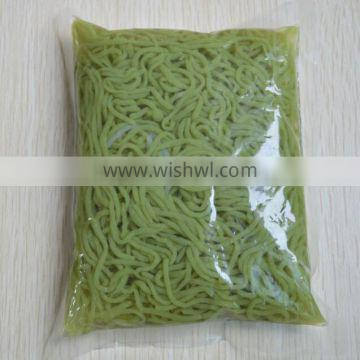 Konjac noodle carrot spinach