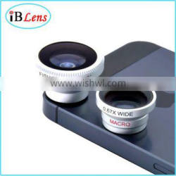 Universal Magnetic Wide Angle Macro Fisheye Lens 3 In 1 Lens For iphone