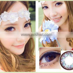 2014 new cosplay design cheap cosmetic wholesale dream color contact lens