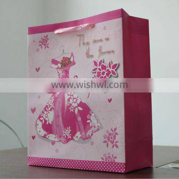 2013 Eco-friendly fancy high quality boutique shopping bags