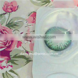 Lush green wholesale color contact lens pp blister packaging colorful soft contact lens