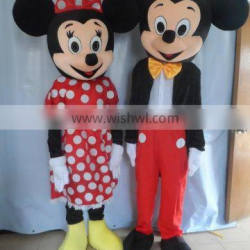 Happy Island adorable micky minie mouse mascot costume