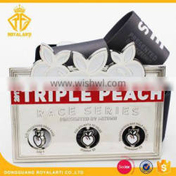High Quality Race Series Spinning Sport Medal in Thanksgiving Day