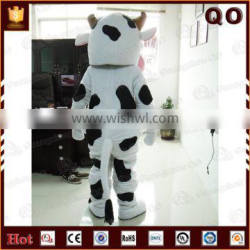Professional design cow mascot costume for adult