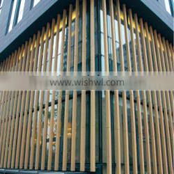 18mm 30mm thickness terracotta stick baguette for outdoor wall building red stick grey wall louver
