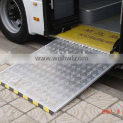 CE Wheelchair Ramp Used for City Bus Bus Ramps