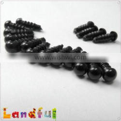 5mm Black Craft Doll Eyes Safety Eyes For Stuffed Toy Making