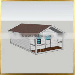 iPrefab-BPHS-M1 Small cheap prefab houses low cost prefabricated wood houses