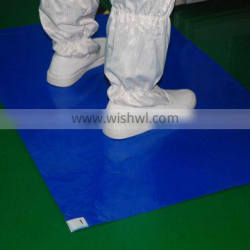 Factory direct selling disposable high viscosity blue sticky mat with promotion price