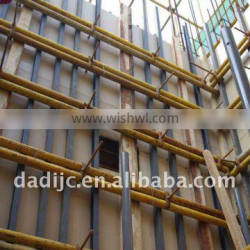 Wood plastic composite board can replace steel formwork