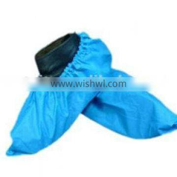 Virgin material of cpe shoe cover by machine