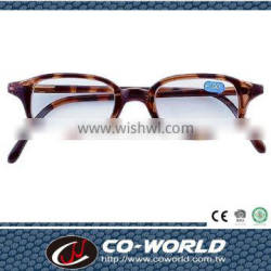 Reading glasses promotion, coffee shells tinted glasses, comfortable to wear, made in Taiwan