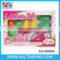 Funny and hot selling kitchen set toy for kids