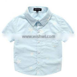 Wholesale New Model Shirts Boys With Western Style