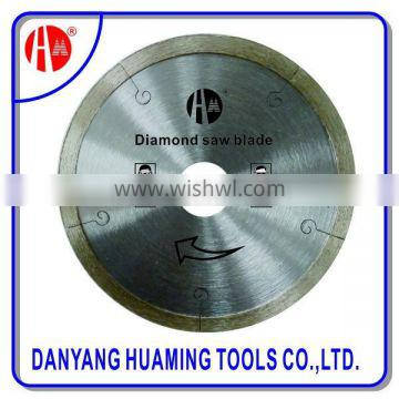 Laser welded diamond saw blade for green concrete or reinforeced concrete structure cutting