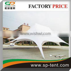 Largest Twin peaks star shaped Tents 16x21m for sale