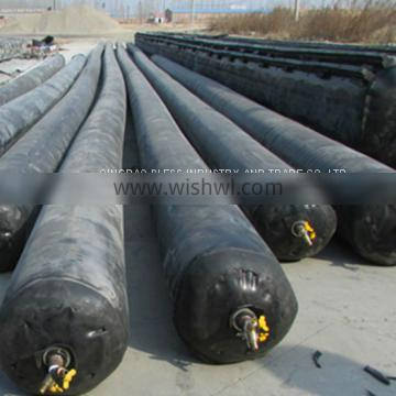 inflatable rubber baloon used for making concrete culverts,also can be used for making gutters
