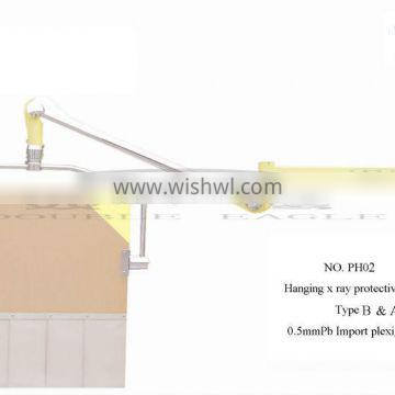 X-ray protective defence shade with CE
