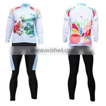 Latest design china wholesale women colorful cycling clothing custom sublimation printed cycling t-shirts cycling Jersey