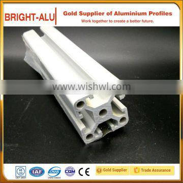 60x60 aluminum t-slot frame profile extrusion and corner bracket cast iron t-slot bed plate with competitive priceation
