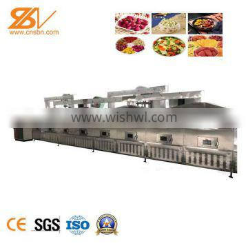 Professional CE Certified High Quality Hot Selling New Technology Microwave Fixing Drying Machine