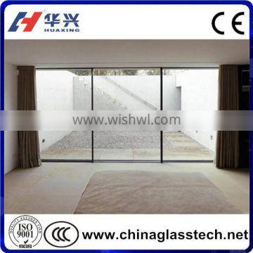 CE Certificate Size Customized Tempered Glass Door Without Frame