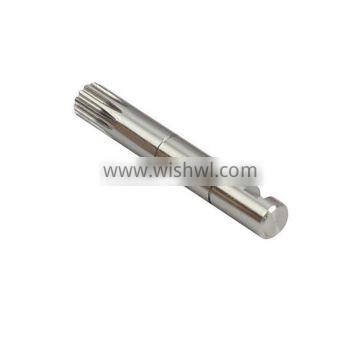 CNC turning high polished aluminum clevis pin
