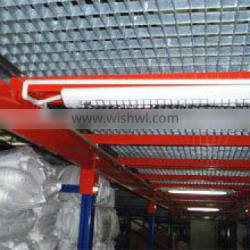 Selective warehouse wire mesh deck racking